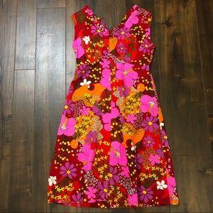 Vintage 1960s Hawaiian Dress